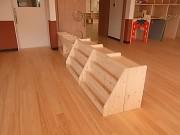 保育園家具,絵本棚,オーダー家具,